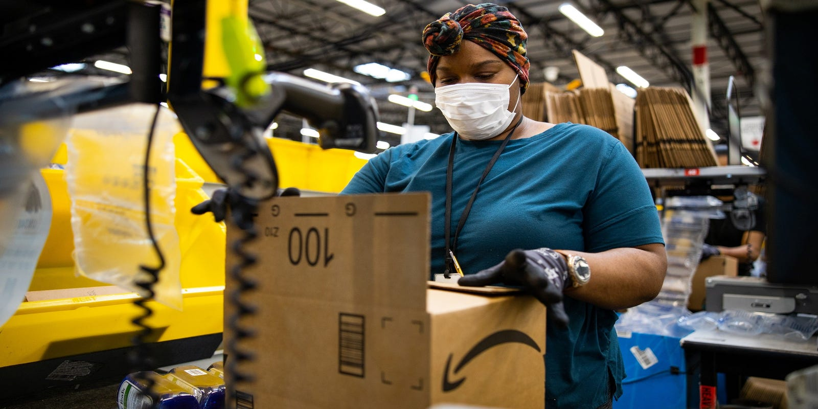 Amazon offers to help Biden administration with COVID vaccine distribution – USA TODAY