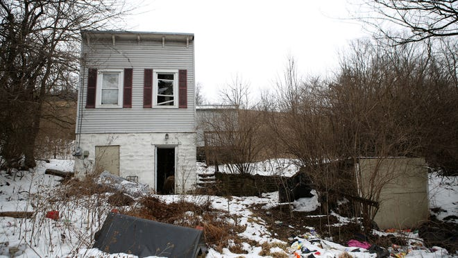 Houses like this one on Quebec Road in Price Hill will be targets to clean up blight in Cincinnati.