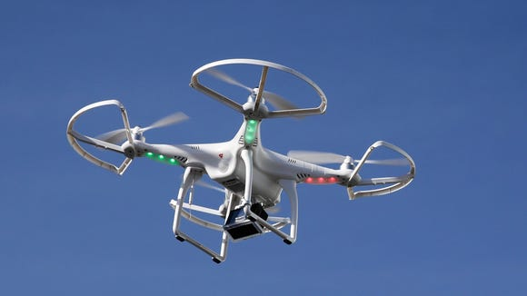 File photo of a drone