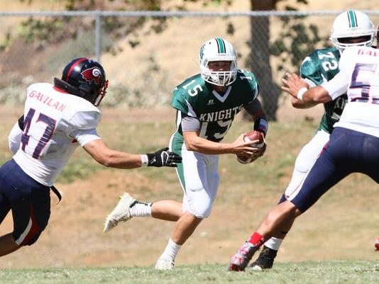 Shasta College Football vs. Gavilan College