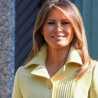 Melania Trump, Finland's first lady go twinsies in themed butterfly outfits
