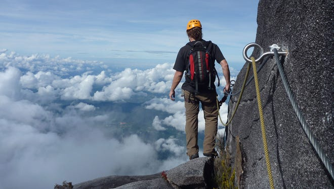 "Best via ferrata—Mountain Torq, Borneo, Malaysia: This via ferrata (Italian for ""road with iron"") definitely demands some iron from its adventurers, too. Built on the side of Borneo's 13,435-foot Mt. Kinabalu, it's the second highest via ferrata in the world (starting at 12,388 feet). Climb up the big peak without worry, as you're secured to its steep walls with a series of fixed cables, stemples, ladders and bridges—including what may be the world's highest elevation suspension bridge. This mountain pass, which includes the option to hike to the summit, was designed to join otherwise isolated routes, accommodating rock-crawlers of all abilities."