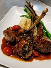 Australian lamb chops from Poppy's Pizza & Bistro in Iona.