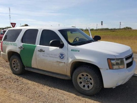 A Border Patrol agent in Las Cruces had an unusual day Sunday, assisting in the delivery of a baby girl.