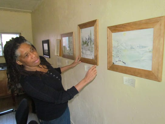 Artists, writer and speaker Jean Moule of Lyons discusses