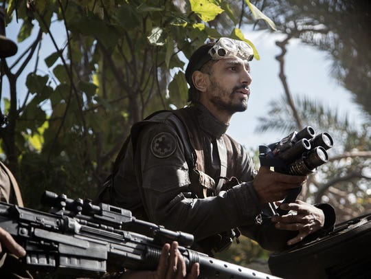 Bodhi Rook (Riz Ahmed) is an Imperial cargo pilot wanting