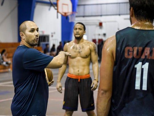 Guam Men's National Basketball Team coach EJ Calvo