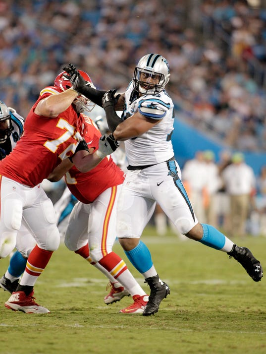 Chiefs Panthers Football