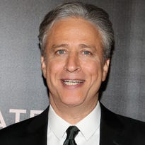 """Jon Stewart attends """"Rosewater"""" New York Premiere at AMC Lincoln Square Theater on November 12, 2014 in New York City."""