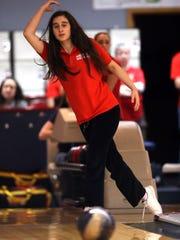 Parsippany sophomore Lauren Marks defended her Morris