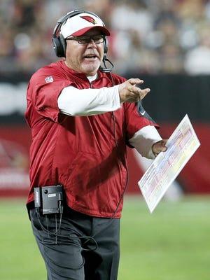Arizona Cardinals head coach Bruce Arians will lead his team into the NFC playoffs. Arians is a York High graduate.