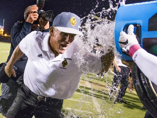 Paul Moro is the all-time high school coaching wins leader in Arizona.