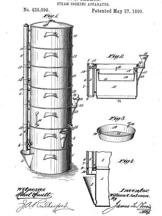 W. C. Salmon - steam cooker - patent 429099