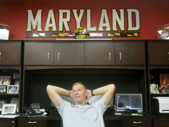 Randy Edsall took over Maryland's football program after the team won nine games in 2010 but fired its head coach. Edsall was tasked with rebuilding the program, and his teams have won two, four and seven games in his first three seasons.