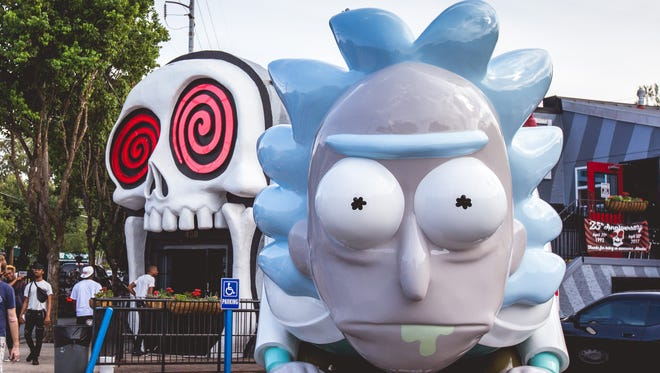 The Rickmobile will make a stop at the International in Knoxville on Thursday.