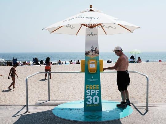 Algunas playas, sobre todo en EU, ofrecen protector