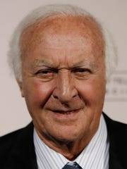 Robert Loggia arrives at the Academy of Television