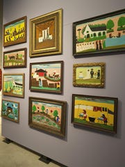 One of the more popular attractions of the Northwest Louisiana history section of the Louisiana Sports Hall of Fame museum is the display showcasing the art of Clementine Hunter.