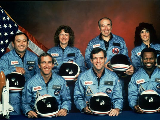 space shuttle challenger crew - photo #9