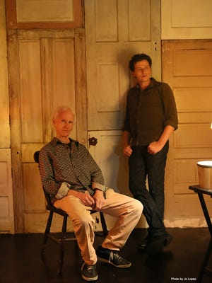 Robby Krieger (left) and his son Waylon are part of the Robby Krueger Band.