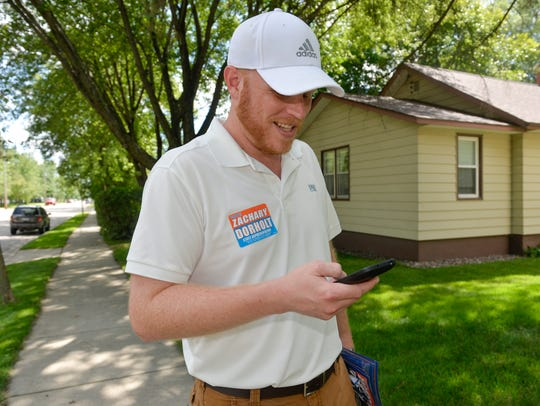 Zachary Dorholt, candidate for District 14 B in the