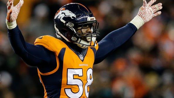 Denver Broncos outside linebacker Von Miller is the