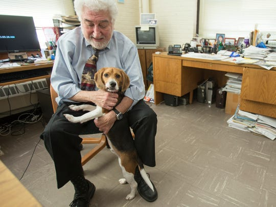 Dr. Alan Beck, director of the Center for the Human-Animal Bond at  Purdue University.