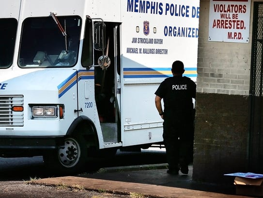 Organized Crime Unit officers shut down a corner store