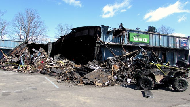Northeast ATV Sales in South Waverly was gutted by fire March 14.