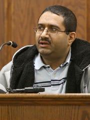 "Abdul ""Eddie"" Saleh testifies during Urshawn Miller's"