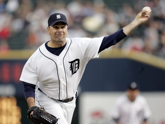 starting pitchers: Tigers; Kenny Rogers, Angels: Ervin Santana