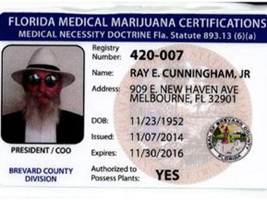 Phony medical marijuana card