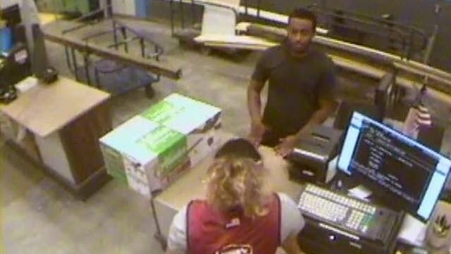 Police are searching for this man related to a crime at Lowe's in Cape Coral.