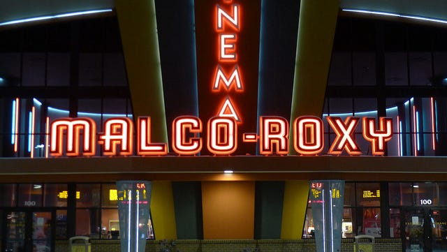 Malco-Roxy movie theater in Smyrna