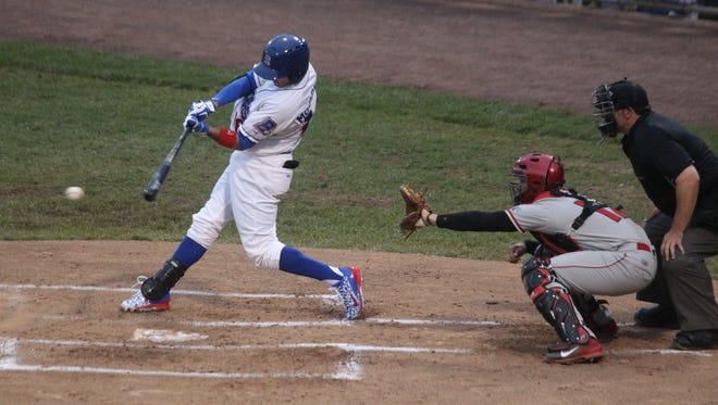 The final home game of the Rockland Boulders' regular season is Sept. 4