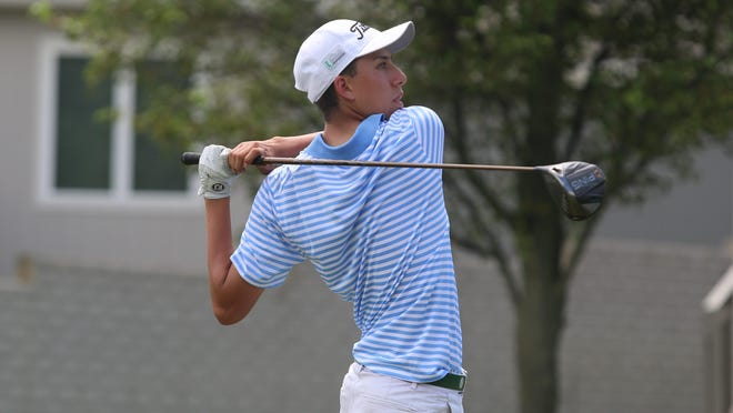 After years of watching and caddying for his older brother, Justice, in Topeka Golf Association events, Alex Valdivia got his long-awaited chance to tee it up himself in Saturday's City Match Play qualifier at Cypress Ridge Golf Course. Valdivia shot a 77 and beat Justice by one stroke.