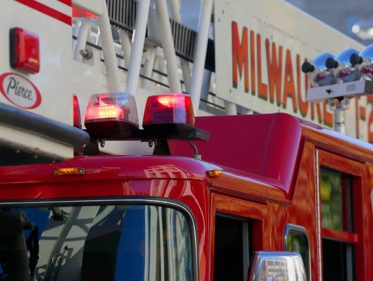 Sirens on a Milwaukee fire truck
