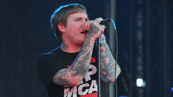 Brian Fallon of The Gaslight Anthem will perform in Wilmington this winter.