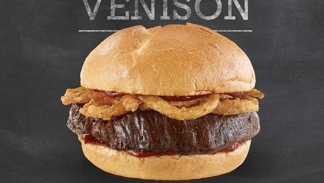 Arby's venison sandwiches will be available on Saturday, Oct. 21 in all 3,300 restaurants across the country, and a limited-edition Elk Sandwich will be available in three restaurants in the states of Colorado, Wyoming and Montana.