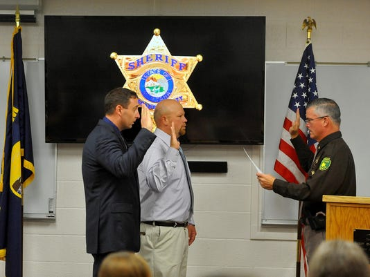 new sheriff's deputies a