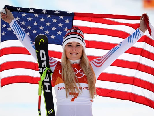 Olympics: Alpine Skiing-Womens Downhill