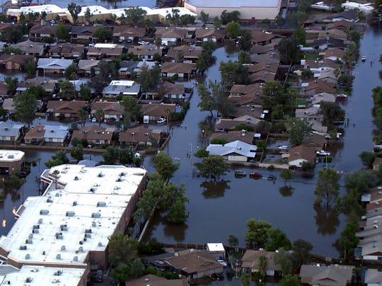 Mesa flooding, Sept. 8, 2014