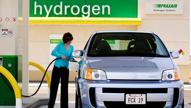 The Honda FCX is a hydrogen vehicle that was certified by the U.S. Environmental Protection Agency and the California' Air Resources Board.