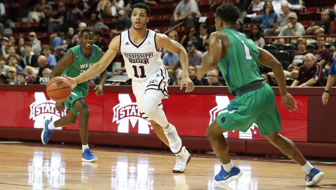 Quinndary Weatherspoon scored 15 points in MSU's final preseason game Thursday.