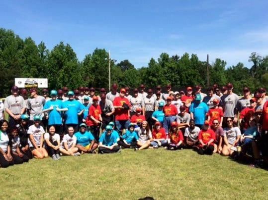 Dixie Diehards and ULM Student-Athletes.JPG