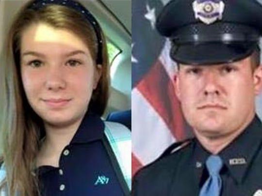 Melah Deen, left, and Officer BJ Deen, are now buried
