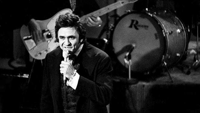 Johnny Cash, Oct. 14, 1974