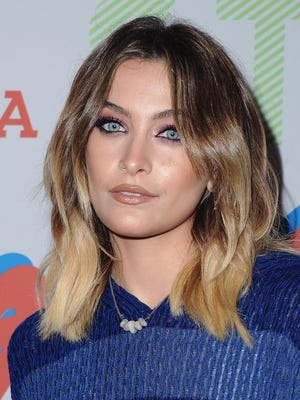 Paris Jackson did some scrubbing for her father Michael.
