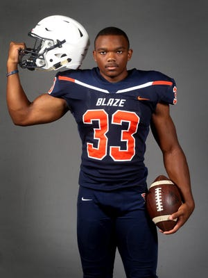 Blackman's Master Teague, an Ohio State commitment, has rushed for more than 500 yards in three games.