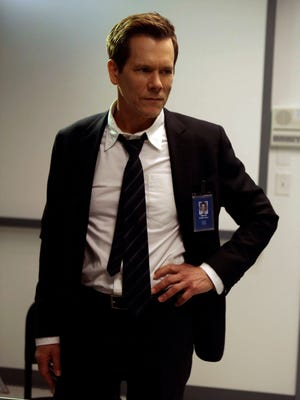 Kevin Bacon's show 'The Following' jumps to a new time slot Monday.